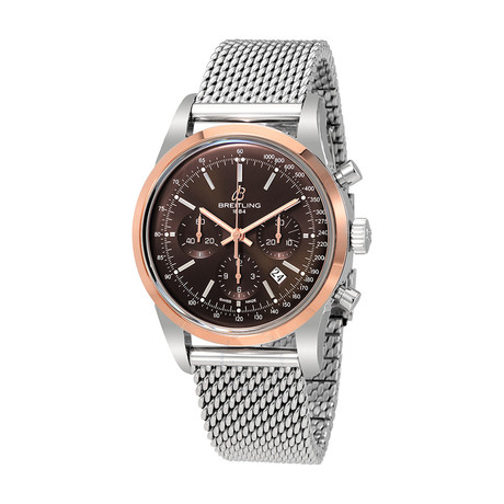 Breitling Transocean Chronograph Automatic // UB015212-Q594-154A // Pre-Owned