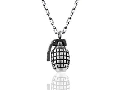 Grenade_Necklace