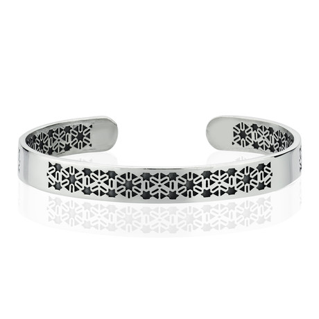 "New Sun Bracelet // Silver (8"")"
