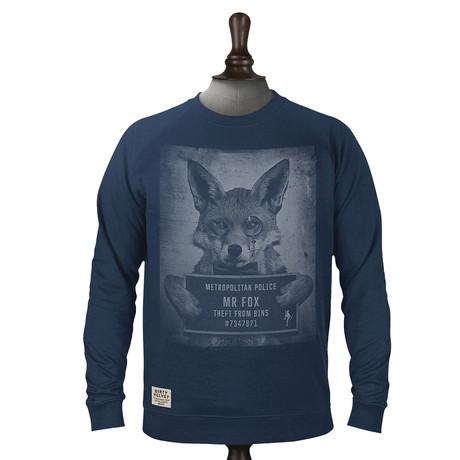 Mr. Fox Pullover // Dark Denim (XS)