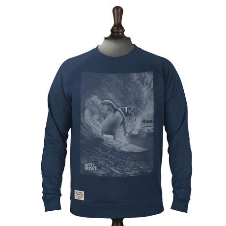 Surfin Antarctic Pullover // Dark Denim (XS)