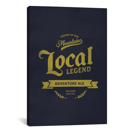 """Man Cave Adventure Ale (12""""W x 18""""H x 0.75""""D)"""