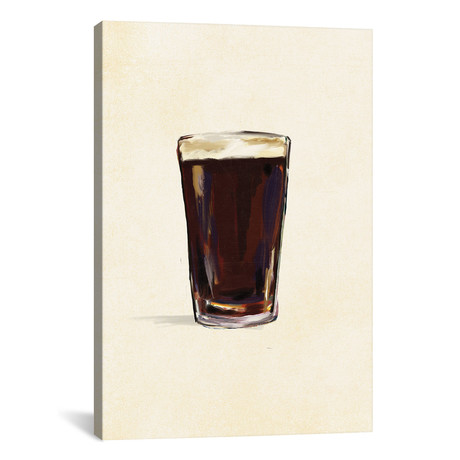 "Craft Beer Stout Solo (12""W x 18""H x 0.75""D)"