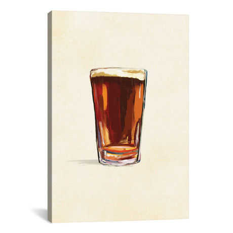 "Craft Beer Amber Solo (12""W x 18""H x 0.75""D)"