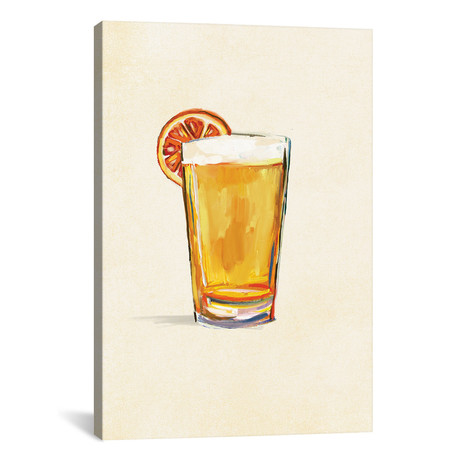 "Craft Beer Blonde Solo (12""W x 18""H x 0.75""D)"