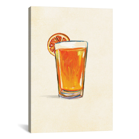"Craft Beer Belgian White Solo (12""W x 18""H x 0.75""D)"
