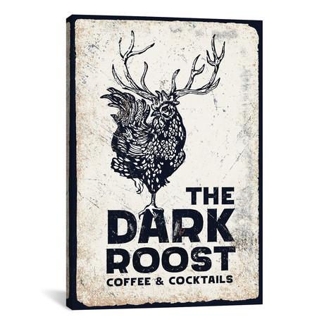 "Dark Rooster Midnight (12""W x 18""H x 0.75""D)"