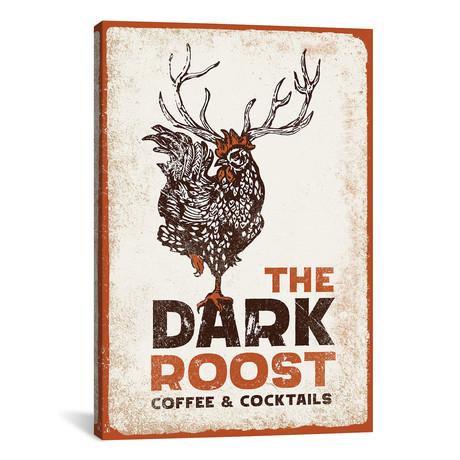 """Dark Rooster Burnt Orange (12""""W x 18""""H x 0.75""""D)"""