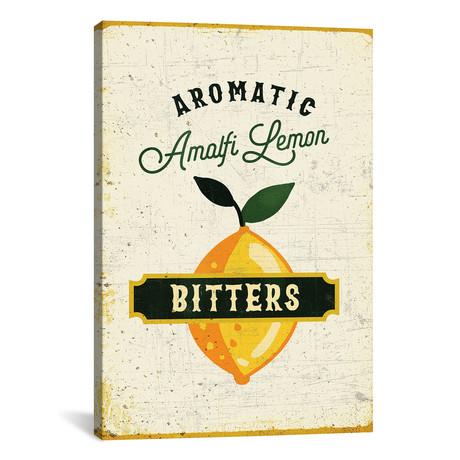 "Botanical Gin Lemon Bitters (12""W x 18""H x 0.75""D)"