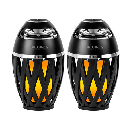 Bluetooth Wireless Speaker // LED Lighting Effect // Set of 2