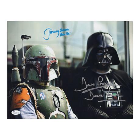 Star Wars Dave Prowse + Jeremy Bulloch