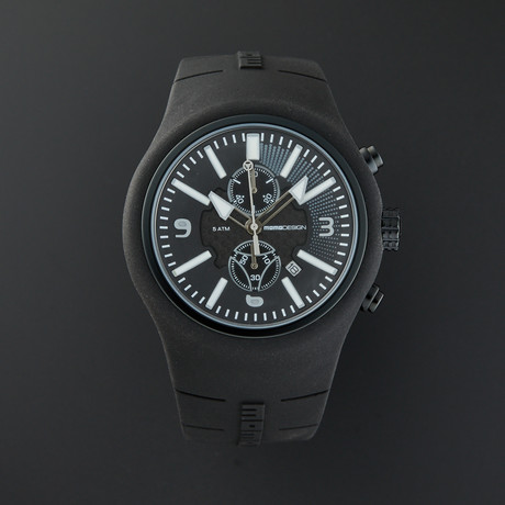 MOMO Design Chronograph Quartz // MD1009BK-06BKWT-RB // Store Display