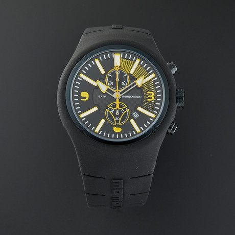 MOMO Design Chronograph Quartz // MD1009BK-05BKYW-RB // Store Display