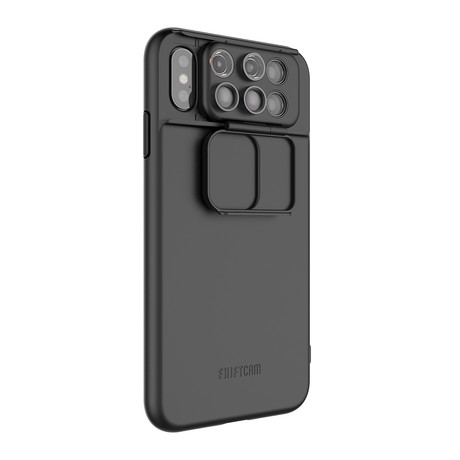 ShiftCam 2.0: 6-in-1 Travel Set // iPhone XS Max // Black