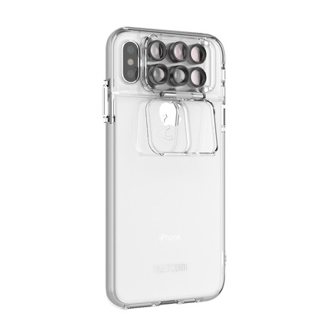 ShiftCam 2.0: 6-in-1 Travel Set // iPhone XS Max // Transparent
