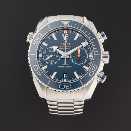 Omega Seamaster Chronograph Automatic // 215.30.46.51.03.001 // Pre-Owned