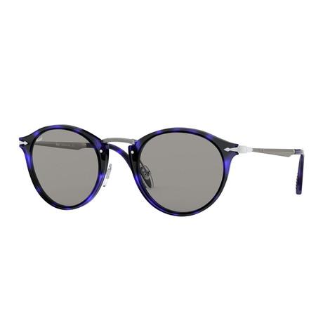 Men's Calligrapher Sunglasses // Blue Tortoise