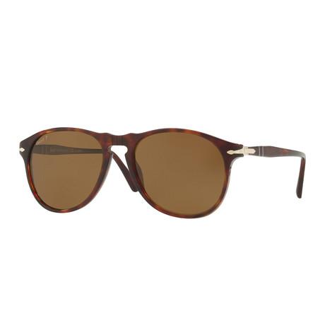 Men's 649 Series Polarized Sunglasses // Havana + Brown