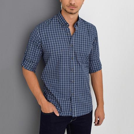 Dillon Shirt // Dark Blue (Small)