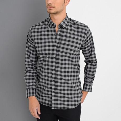 Boris Shirt // Black (Small)
