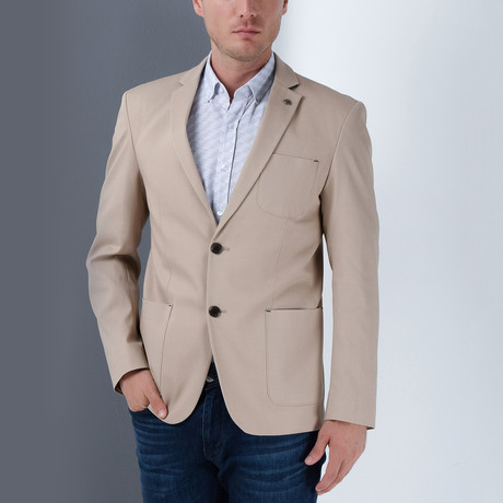 Moses Blazer // Beige (Small)