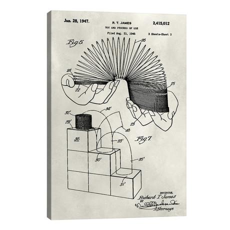 """Patent--Slinky // Alicia Ludwig (12""""W x 18""""H x 0.75""""D)"""
