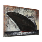Bow // Mixed Media Iron Hand Painted Dimensional Wall Art