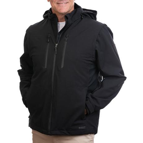 Men's Revolution Plus 2.0 Jacket // Black (XS)