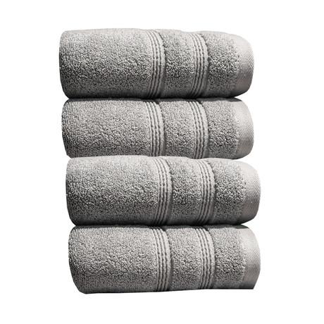 4 Piece Hand Towel Set // Bamboo