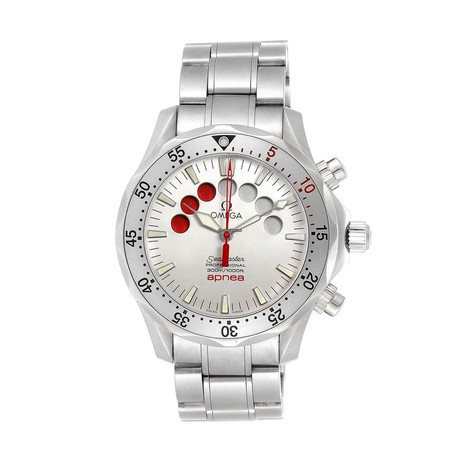 Omega Seamaster Pro Apnea Jacques Mayol Chronograph Automatic // O2595.30 // Store Display
