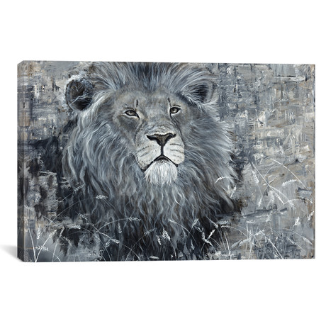 "Power Of The Pride Lion (18""W x 12""H x 0.75""D)"