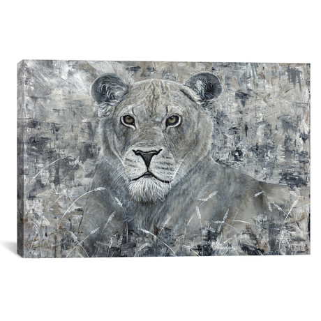 "Power Of The Pride Lioness (18""W x 12""H x 0.75""D)"
