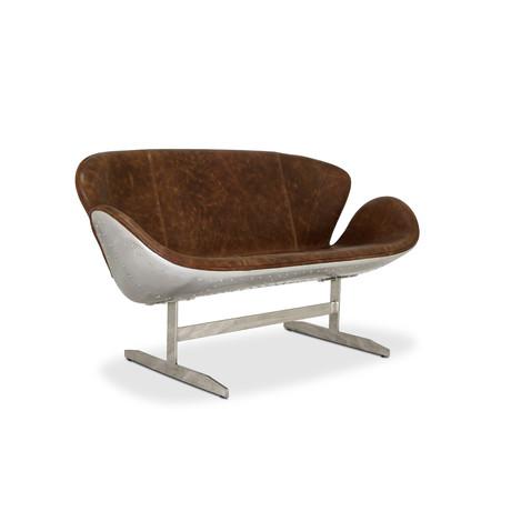 Aviator Swan Sofa // Jacobsen Inspired