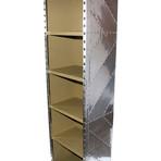"""Aviator Aircraft Bookcase // 6 Canvas Shelves // 79"""""""
