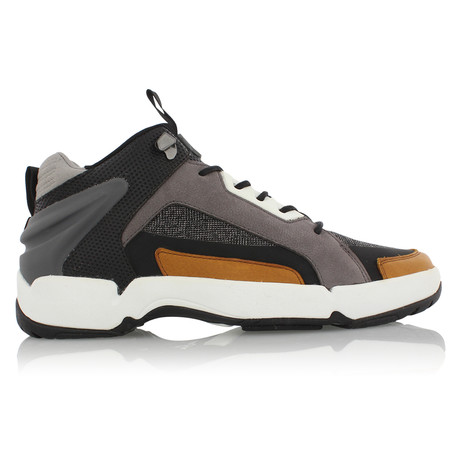 Nitti Sneakers // Black + Brown (US: 7)