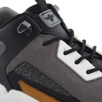 Nitti Sneakers // Black + Brown (US: 7)