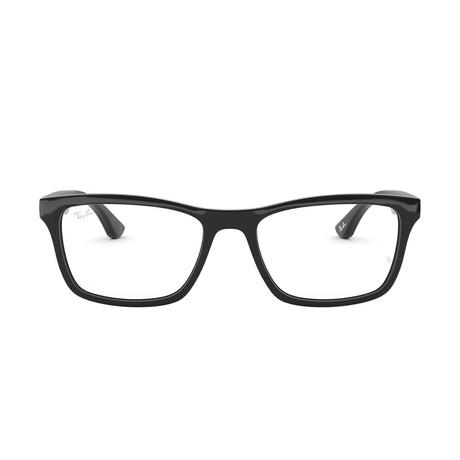 Men's Wayfarer Optical Frames // Black