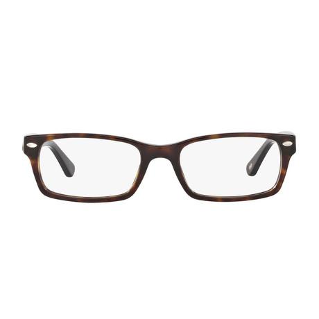 Men's Rectangle Optical Frames V1 // Havana