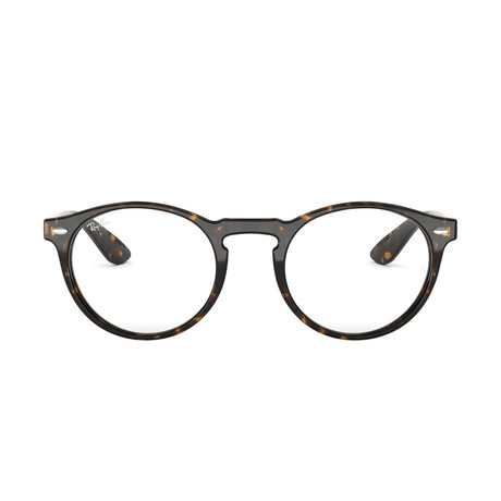 Men's Round Optical Frames // Havana