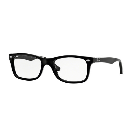 Men's Wayfarer Optical Frame // Black II