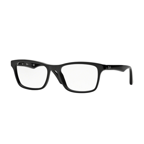Men's Wayfarer Optical Frame // Black