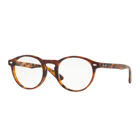 Ray-Ban // Men's Round Optical Frames // Tortoise