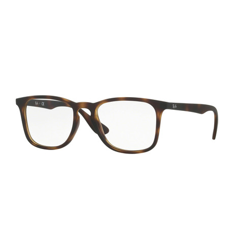 Men's Square Optical Frame // Matte Havana