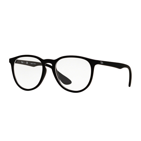 Men's Round Optical Frame // Matte Black
