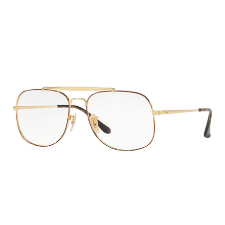 Unisex Optical Frame // Gold Tortoise