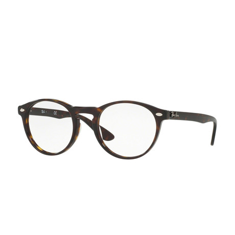 Men's Round Optical Frame // Havana