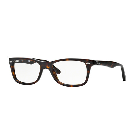 Men's 0RX5228 Wayfarer Optical Frames // Havana