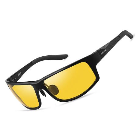 Night Vision Glasses // 8128 // Black
