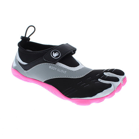 Women's 3T Barefoot Max // Dark Shadow + Neon Pink (US: 5)