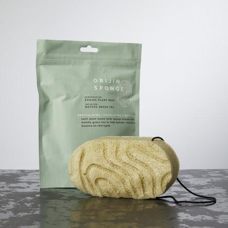 ORIJIN SPONGE // Matcha Green Tea Infusion